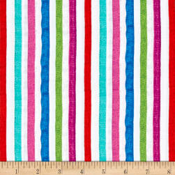 QT Fabrics Sweet Season Stripe Multi Fabric