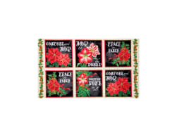Joy To The World Metallic Poinsettia 24