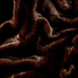 Shannon Lux Fur Tip Dyed Sable Mink Fabric
