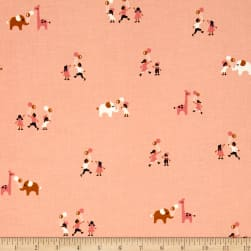 Cotton + Steel Penny Arcade Ballons Pink Fabric