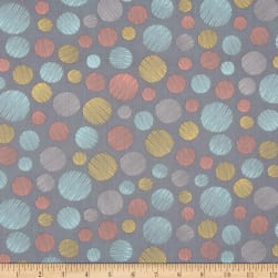 Timeless Treasures Lily Scratch Dot Grey