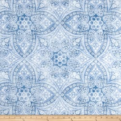 P Kaufmann Indoor/Outdoor Alfresco Azure Fabric