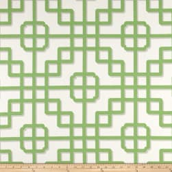 P Kaufmann Indoor/Outdoor Imperial Gate Apple Fabric