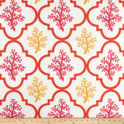 P Kaufmann Indoor/Outdoor Nantucket Coral Sunshine