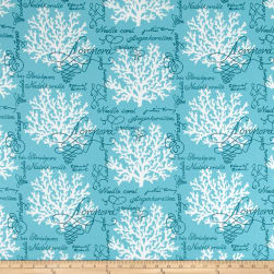 P Kaufmann Indoor/Outdoor Sea Reef Turquoise Fabric