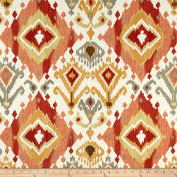 Swaville/Mill Creek Indoor /Outdoor Lavezzi Screen Paprika Fabric