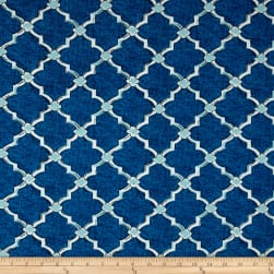 Swavelle/Mill Creek Indoor/Outdoor Eaton Screen Deep Sea Fabric