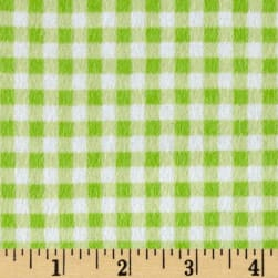 Flannel Basic Plaid Green Apple