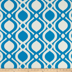 Terrasol Indoor/Outdoor Ellipsis Azure Fabric
