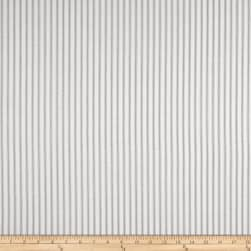 Premier Prints Classic Ticking Stripe Storm Fabric