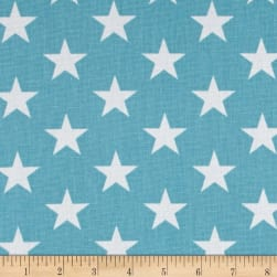 Premier Prints Stars  Coastal Blue