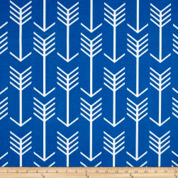 Premier Prints Arrow Indoor/Outdoor Cobalt Fabric
