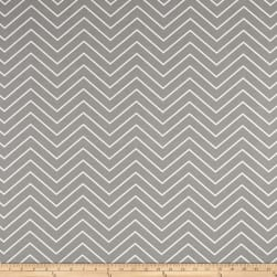 Premier Prints Chevron Indoor/Outdoor Light Grey Fabric