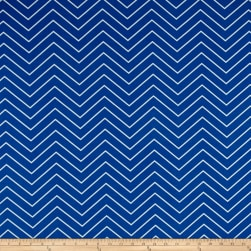 Premier Prints Chevron Indoor/Outdoor Cobalt Fabric