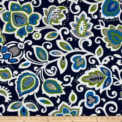 Premier Prints Faxon Indoor/Outdoor Oxford/Cobalt Fabric