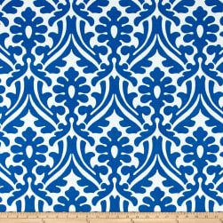Premier Prints Holly Indoor/Outdoor Cobalt Fabric