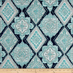 Premier Prints Milan Indoor/Outdoor Oxford/Ocean Fabric