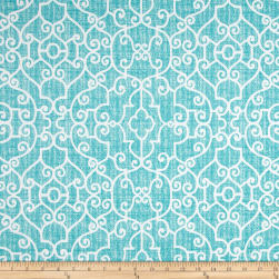 Premier Prints Ramey Indoor/Outdoor Ocean Fabric