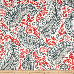 Premier Prints Shannon Indoor/Outdoor Indian Coral Fabric