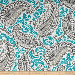 Premier Prints Shannon Indoor/Outdoor Ocean Fabric