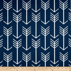 Premier Prints Arrow Twill Premier Navy/White