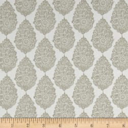 Premier Prints Jersey Twill Gunmetal Tan Fabric