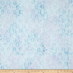 Wilmington Batik Palm Texture Little Blue