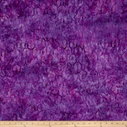 Wilmington Batik Palm Texture Purple