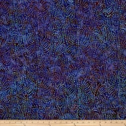 Wilmington Batik Swirl Chase Purple Fabric