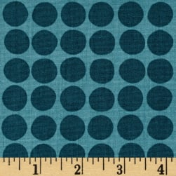 Flourish Dots Dark Teal