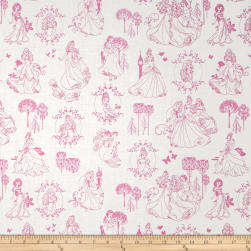 Disney Princess Toile Light Pink