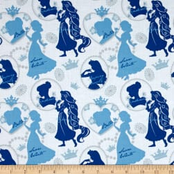 Disney Princess Silhoutte Blue