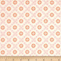 Kaufman Woodland Clearing Geo Plaid Ivory Fabric