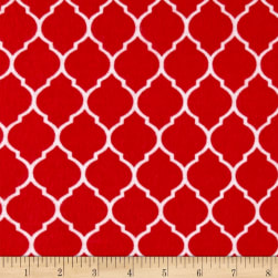 Flannel Trellis Ruby