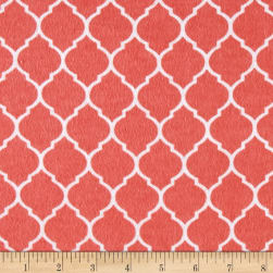Flannel Trellis Grapefruit