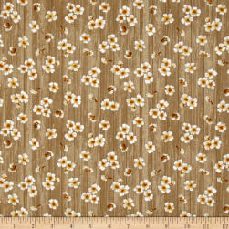 Paloma Flowers Tan