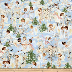 Timeless Treasures Angels Sky Fabric