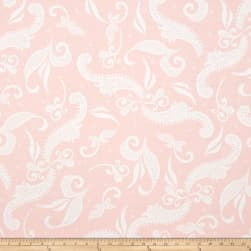 Hoffman Simply Eclectic Lace Scroll Blush Fabric