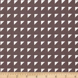 Hoffman Simply Eclectic Triangle Geo Aubergine