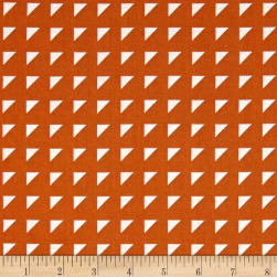 Hoffman Simply Eclectic Triangle Geo Marmalade Fabric