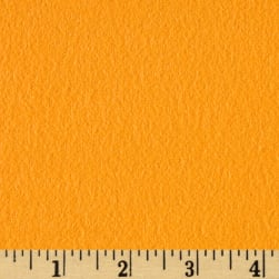 Fluffy Flannel Solids Tangerine Fabric