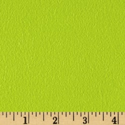 Fluffy Flannel Solids Apple Green Fabric