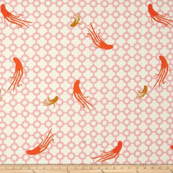 Heather Ross Mendocino Large Octopus Blush Fabric