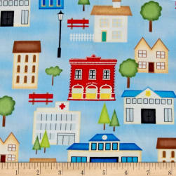 Help Is On The Way Buildings Blue