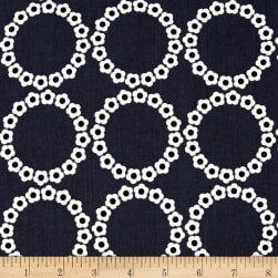 Fresh Bloom Daisy Chain Charcoal