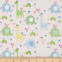 Bobo Baby Bobo & Friends Lt. Pink Fabric