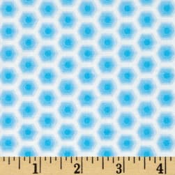 Bobo Baby Honeycomb Lt. Blue Fabric