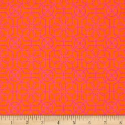 Bahama Breeze Trendy Trellis Orange/Pink