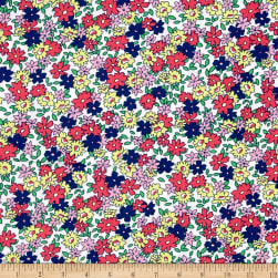 Bahama Breeze Little Ditzy White/Navy Fabric