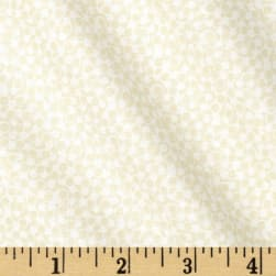Revved Up Retro Whiter Swirl Ecru Fabric
